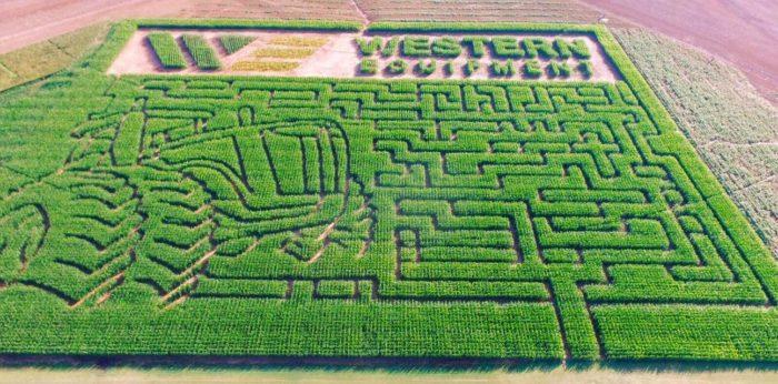 Corn Maze In Oklahoma City
