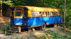 There's A Schoolbus Getaway Hiding In New Hampshire And It's Awesome