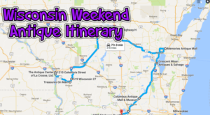 Here's The Perfect Weekend Itinerary If You Love Exploring Wisconsin's Best Antique Stores