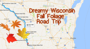 This Dreamy Road Trip Will Take You To The Best Fall Foliage In All Of Wisconsin