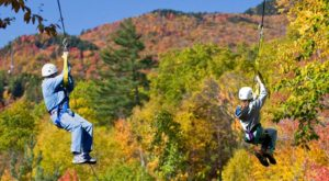 This Amazing Adventure Park Has The Longest Zip Line In New Hampshire