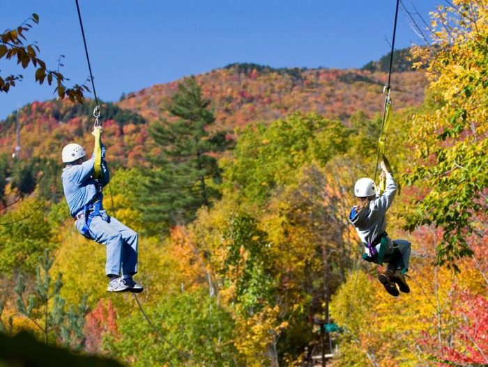 Aerial Adventures In Lincoln Is The Best Place To Zipline
