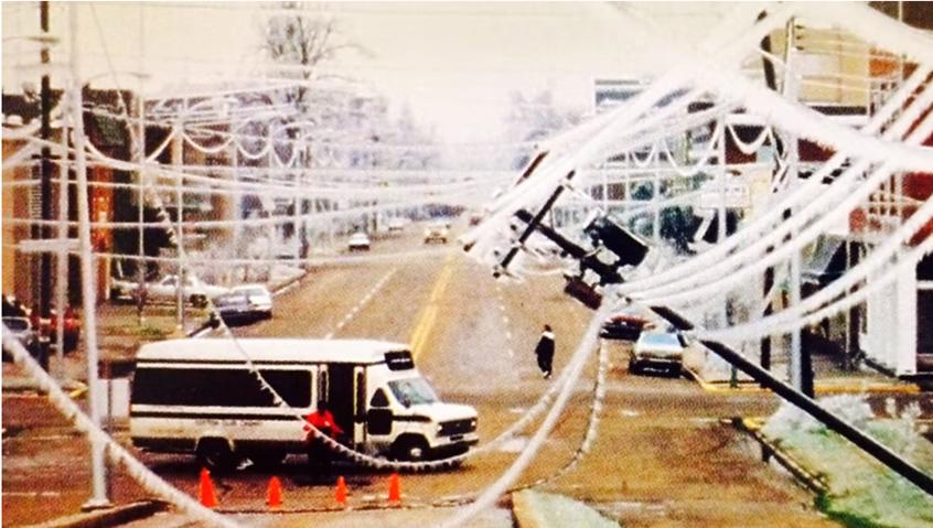 A Massive Blizzard Blanketed Mississippi In Ice In 1994