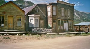 The One Creepy Ghost Town In Colorado You Can Actually Visit… If You Dare