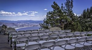 You'll Fall In Love With The Captivating Views At This Heavenly Nevada Wedding Chapel