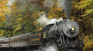 This Mountain Moonshine Train Ride In Maryland Will Give You An Unforgettable Experience