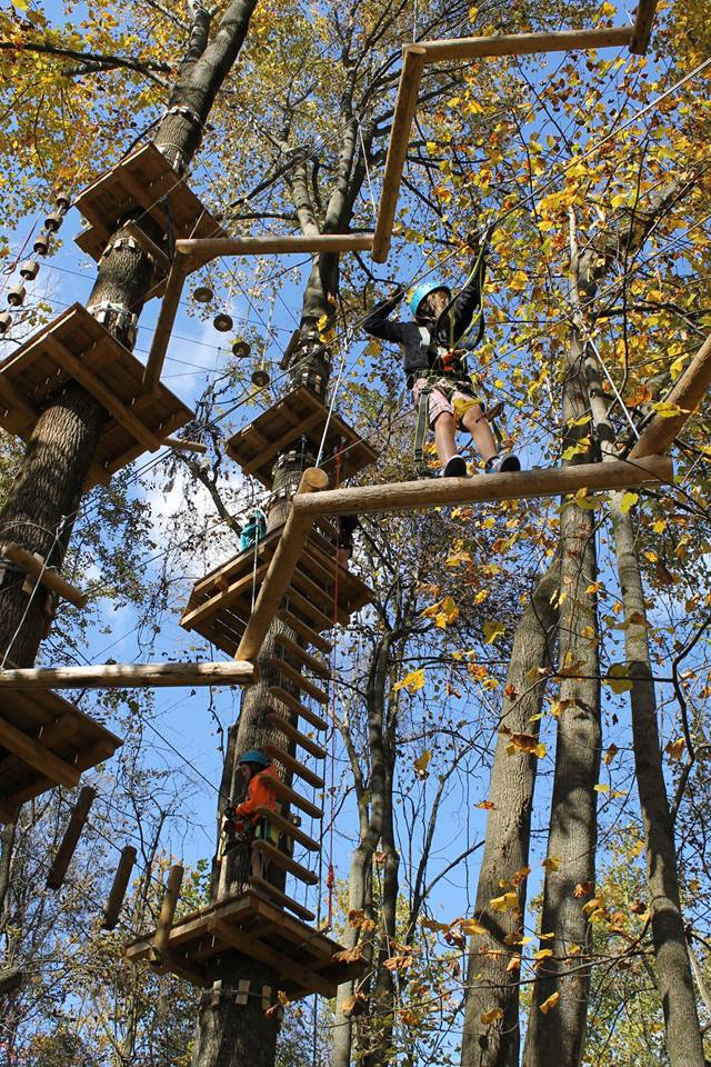 Try the Adventure Park if youu0027d like to challenge your physical strength and agility. & Harpers Ferry Canopy Tour Is A Great Way To See The Fall Foliage ...