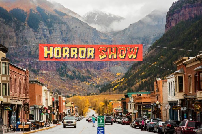 what makes this seemingly ordinary mountain town the place to be this halloween for starters there is the annual telluride horror show - Halloween Colorado 2017