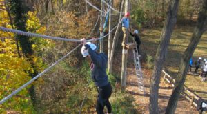 This Canopy Tour Near Baltimore Is The Perfect Way To See The Fall Colors Like Never Before