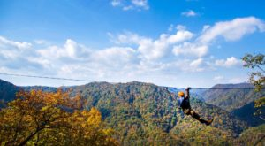 This Canopy Tour In North Carolina Is The Perfect Way To See The Fall Colors Like Never Before