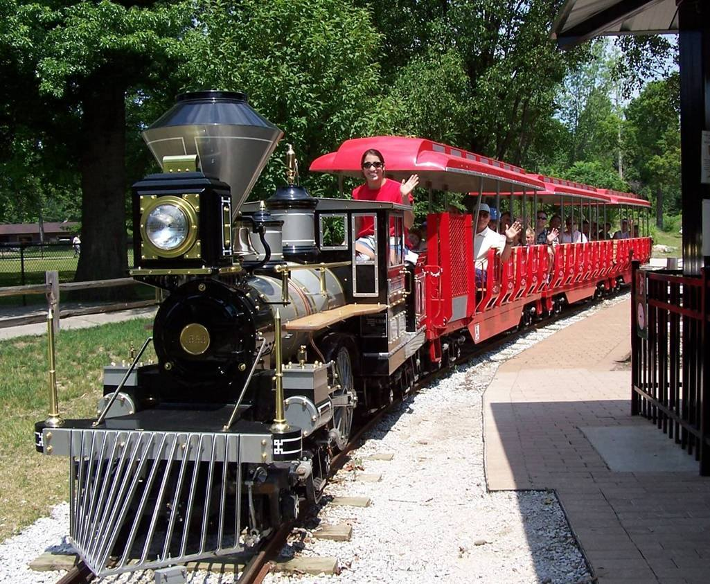 The Virginia Zoo Has A Fun Train Ride For The Whole Family