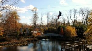 This Canopy Tour Near Cincinnati Is The Perfect Way To See The Fall Colors Like Never Before