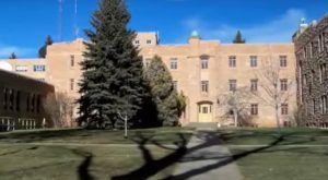 You'll Never Guess What Halted Construction On This Wyoming Campus. It's Chilling.