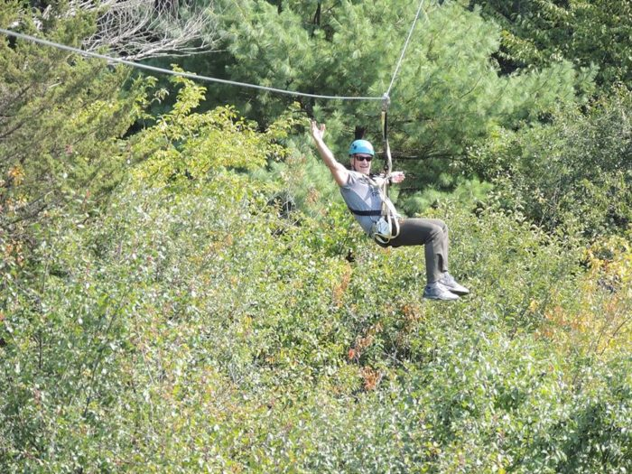 Scare Yourself Silly On This Haunted Hike Amp Zipline Tour