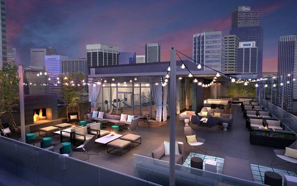 This Denver Rooftop Bar Has An Unbeatable View And Cozy