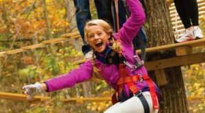 This Canopy Tour In Connecticut Is The Perfect Way To See The Fall Colors Like Never Before