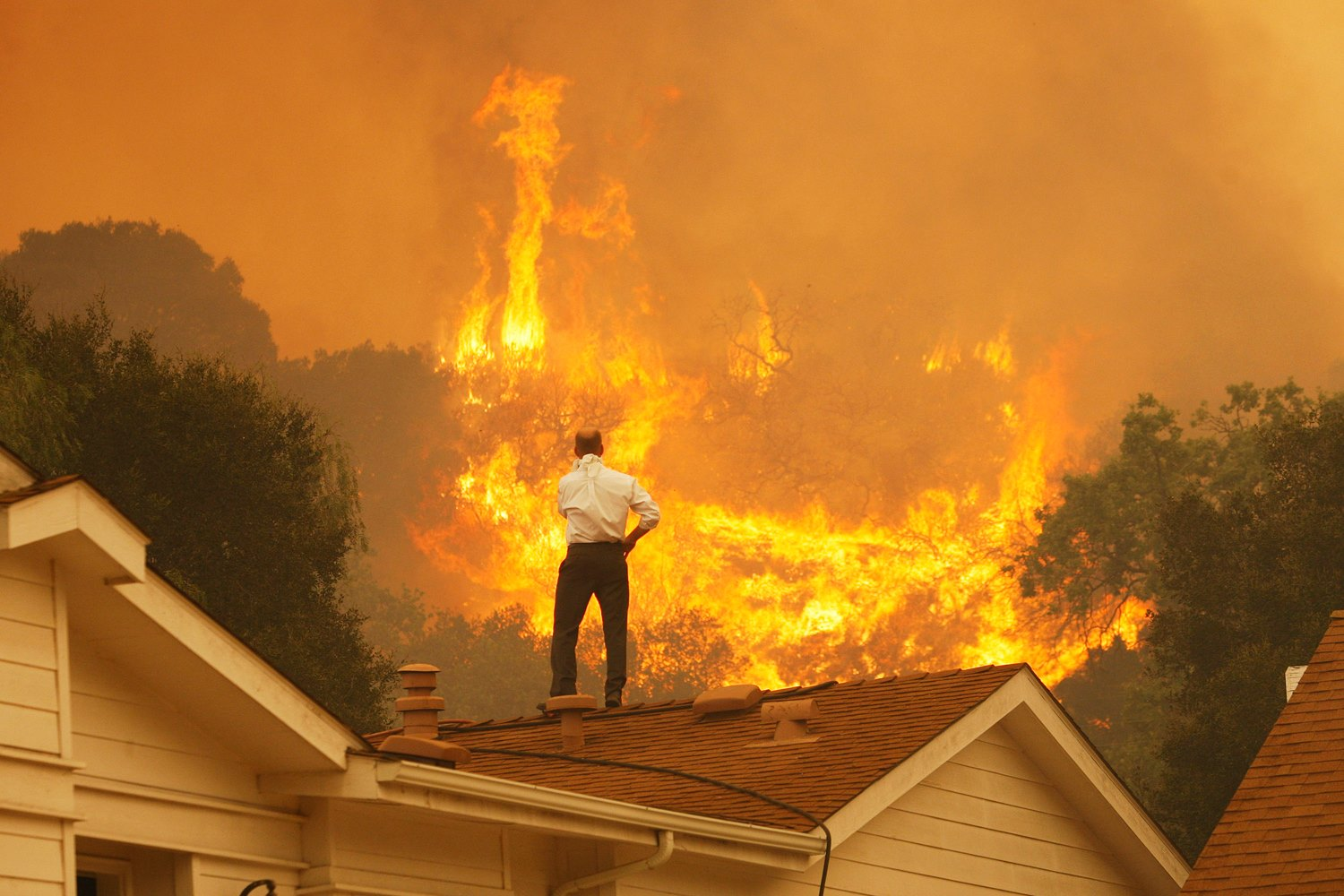These 8 Photos Show Just How Bad The Wildfire Devastation Is Around San Francisco