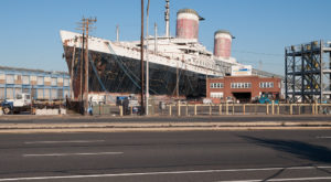 What This Drone Footage Captured At This Abandoned Philadelphia Ship Is Truly Grim