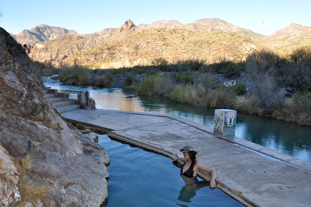 Visit The Ruins Of This Abandoned Hot Spring Resort In Arizona