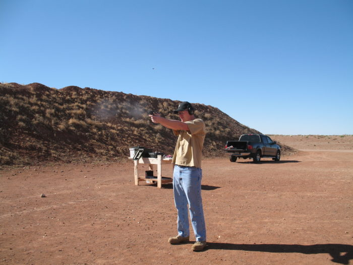 Sidney Paul Gordon Shooting Range in La Luz, NM