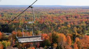 9 Unique Ways To Check Out Michigan's Stunning Fall Foliage