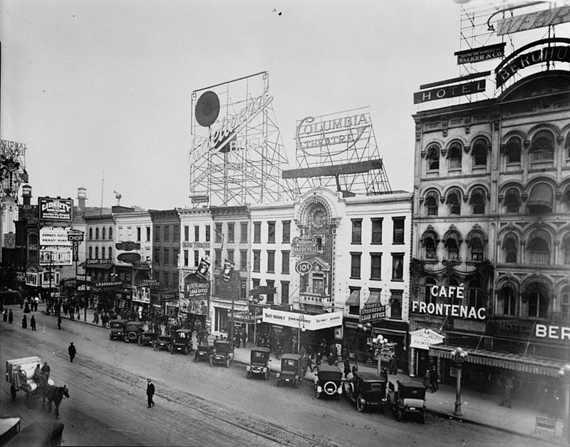 here are 10 photos of what detroit looked like a century ago