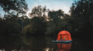 Why You'll Want This Incredible Floating Tent For Your Next Camping Trip