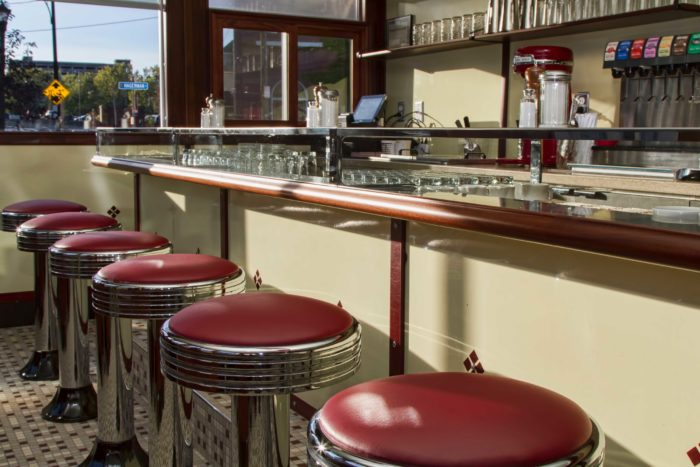 Time Stands Still At The Nostalgic Swan Street Diner In
