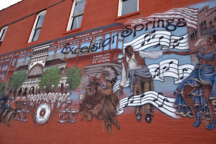 Excelsior springs outside kansas city is perfect for a day for Malcolm x mural