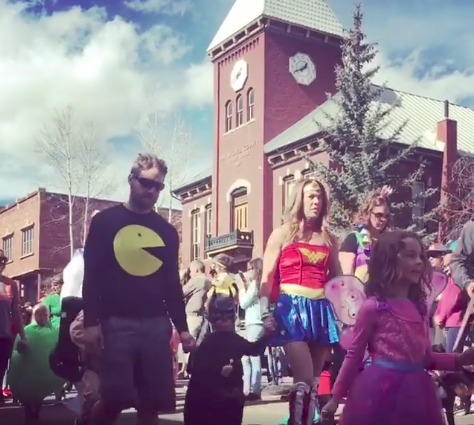 annual halloween parade for those who either have kids andor prefer something a bit less spooky - Halloween Colorado 2017