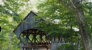 This Special Covered Bridge In Maine Is Worth A Day Trip