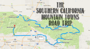 The Refreshing Mountain Town Road Trip In Southern California That Should Be On Everyone's Bucket List