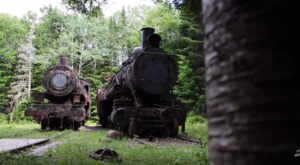 The Awesome Hike In Maine That Will Take You Straight To An Abandoned Train