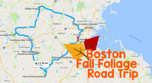 This Dreamy Road Trip Will Take You To The Best Fall Foliage In All Of Boston