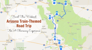 This Dreamy Train-Themed Trip Through Arizona Will Take You On The Journey Of A Lifetime