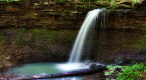 The Hike In Arkansas That Takes You To Not One, But TWO Insanely Beautiful Waterfalls