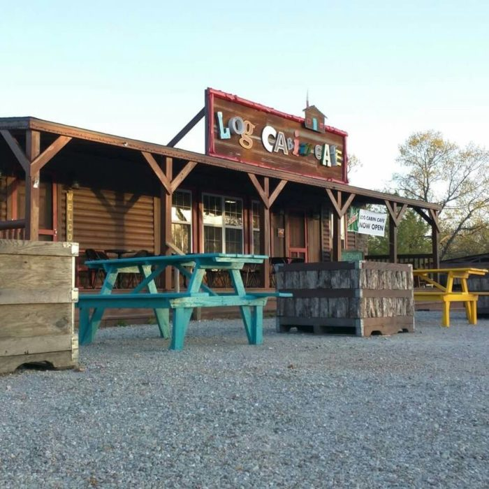 The remote cabin restaurant in missouri that feels just for Log cabin cafe