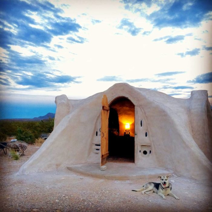 This Adobe Dome Near Big Bend Is The Most Unique Hotel In