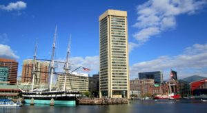 The World's Tallest Regular Pentagonal Building Is In Baltimore And You'll Want To Visit