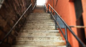 The Story Behind This Hidden Staircase In DC Is Positively Terrifying