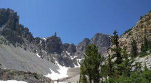 Most People Don't Know This Majestic Nevada Park Is Hiding A Mammoth Glacier