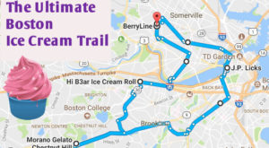 This Mouthwatering Ice Cream Trail In Boston Is All You've Ever Dreamed Of And More