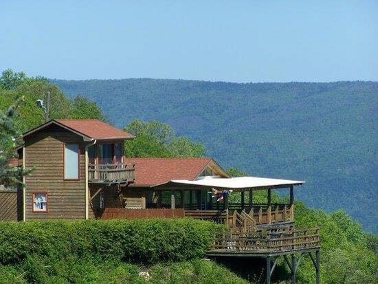 Mountain View Restaurant Blue Ridge Parkway North Carolina