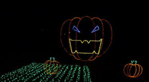 The Halloween Light Show In Alabama That's Enchantingly Spooky