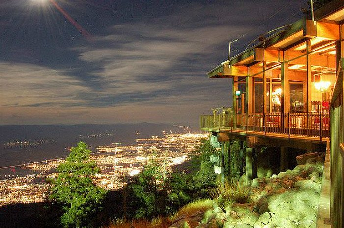 Peaks Restaurant Has A Breathtaking Panoramic View Of