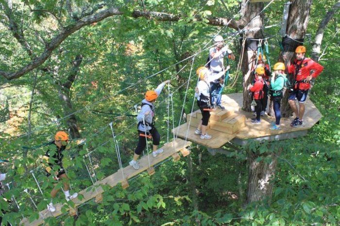 Zipzone Outdoor Adventures Is Best Zipline In Columbus
