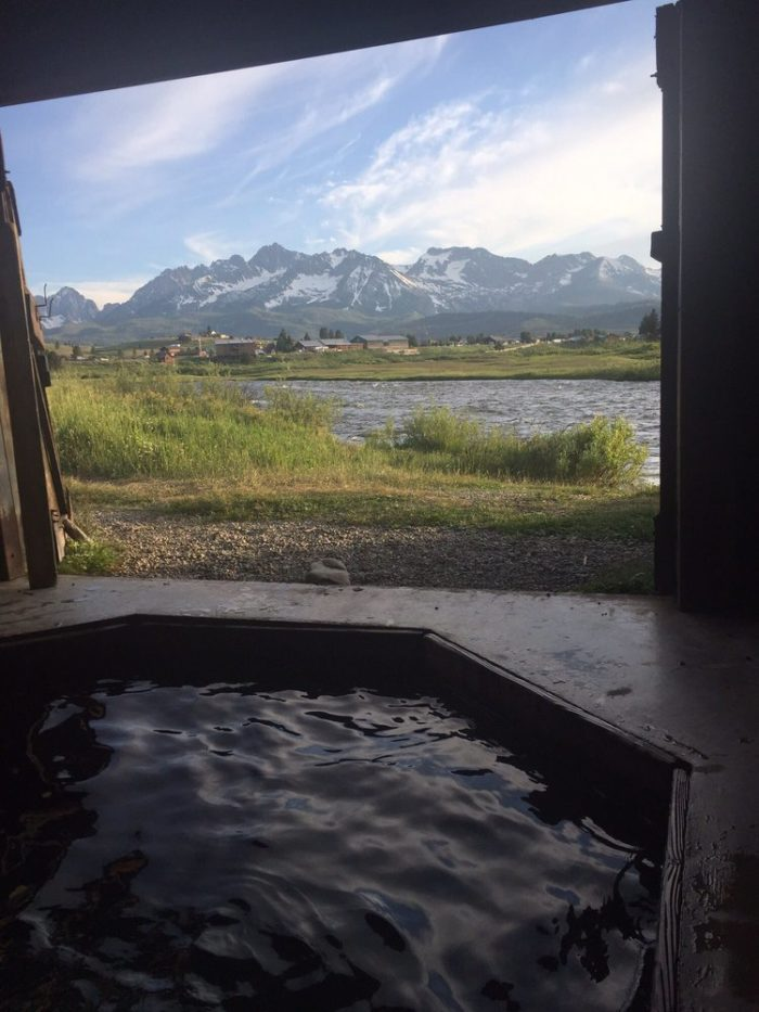Mountain Village Resort Has A Private Hot Springs For The ...