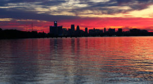 The One Secret Spot In Detroit With Unbelievable Sunset Views