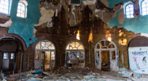 What This Drone Footage Captured At This Abandoned Buffalo Hospital Is Truly Grim