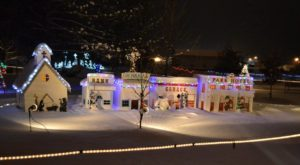 The Christmas Village In Nebraska That Becomes Even More Magical Year After Year
